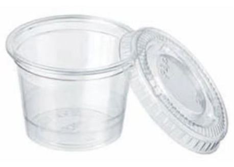 POT PORTION CRISTAL 6cl diam 61 H 30mm les 250(CA2500(10x250)