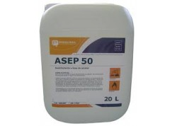 ASEP 50 AGENT BLANCHIMENT BASE ACIDE PERACETIQUE STABILISE Bd 20L