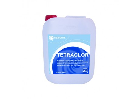 TETRACHLOR agent blanchiment BASE CHLORE ACTIF STABILISE Bd 20L