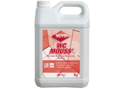 DETARTRANT WC NOVO MOUSSE désinfectant Bd 5L (CA 2x5L)