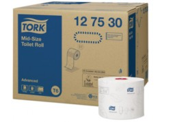 PAPIER TOILETTE BLANC COMPACT TORK ADVANCED 2P 100m lot 27rlx