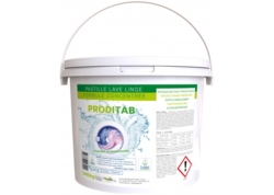 LESSIVE LINGE ACTION VERTE TABLETTE ECOLAB. Film hydrosoluble Seau125