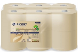 PAPIER TOILETTE ECONATURAL L-ONE MINI 2PLIS 900F ECOLABEL 12rlx