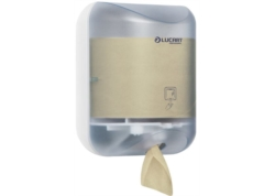 DISTRIBUTEUR PAPIER TOILETTE ECONATURAL L-ONE MINI ABS BLANC/TRANSP.