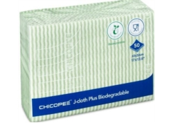 LAVETTE CHICOPEE J-Cloth PLUS BIODEGRADABLE Alim 43x32 VERT les 50