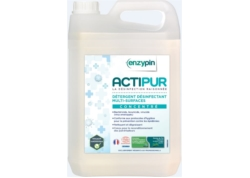 ENZYPIN ACTIPUR CONCENTRE DESINFECTION VIRUCIDE ECOCERT Bd 5L (CA4)