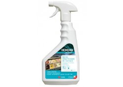 IDOS CLEAR Spray Désinfectant de contact HACCP 750 ml l'unité (CA 6)