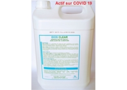 IDOS CLEAR Désinfectant de contact HACCP Bd 5L (CA 2x5L)